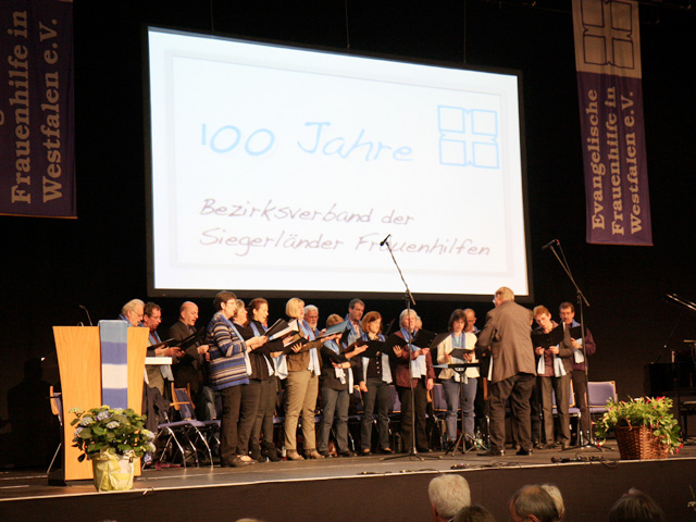 100 Jahre Bezirksverband der Siegerländer Frauenhilfen Siegen Jubiläum